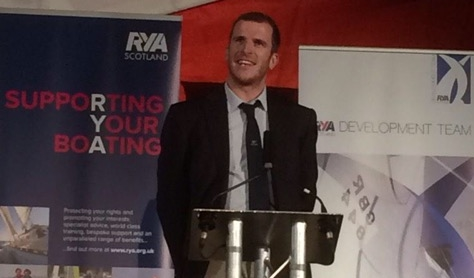 After dinner speach, RYA Awards, Glasgow 2015.