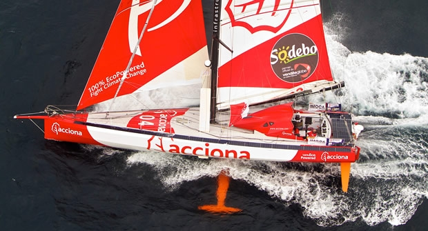 Acciona Open 60, 2012. 100% EcoPowered.