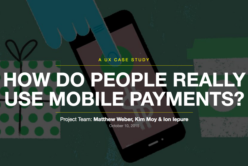 Some key things to know about the role that mobile payments plays in people's lives.