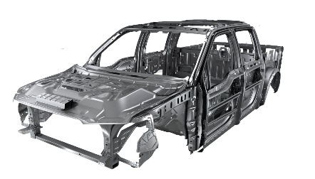 Ford Aluminum Alloy Structure