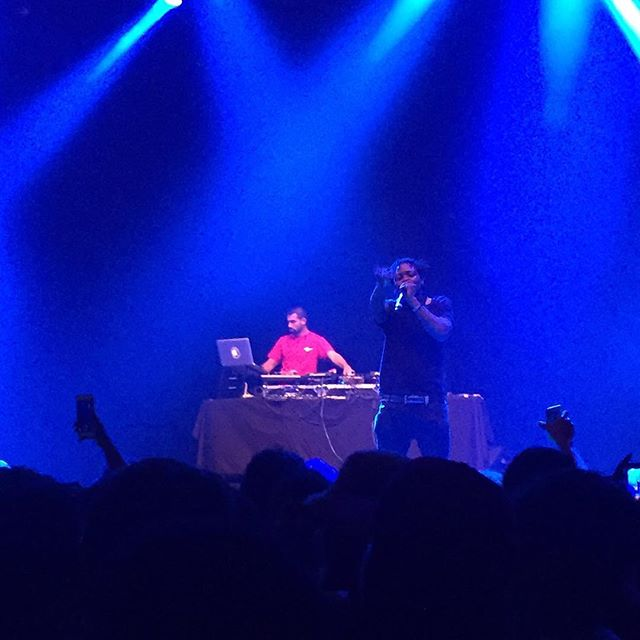 @unotheactivist & @7he7hird on stage killing shit. #BlownAwayBrand #BlownLife