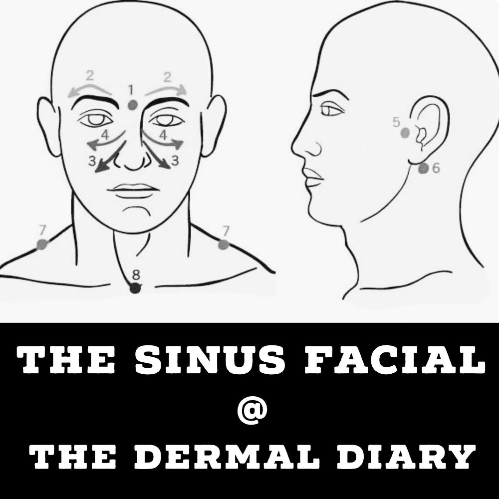 The Sinus Facial - Ideal for sinusitis and sinus pain and headache suffers!