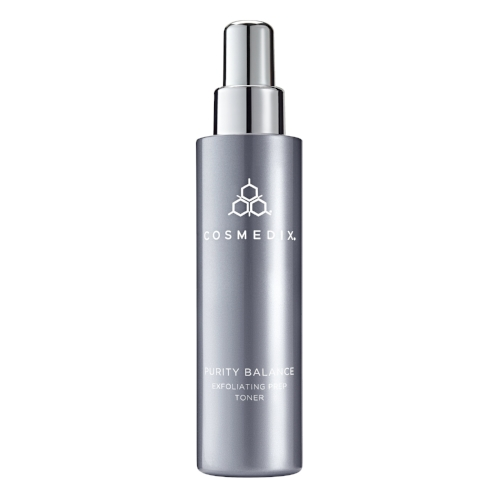 Purity Balance   Exfoliating prep    Nourishing and stimulating tonic for oily, trouble prone and sun-damaged skin. Removes impurities from the skin. A clinic pre-peel degreaser.   Benefits:    Mildly exfoliating  Unclogs follicles  Supports skin barrier  Brightens   Condition:   Impure skin  Enlarged pores   Oily/ Combination skins  Photodamage/hyperpigmentation   Pre Peel prep