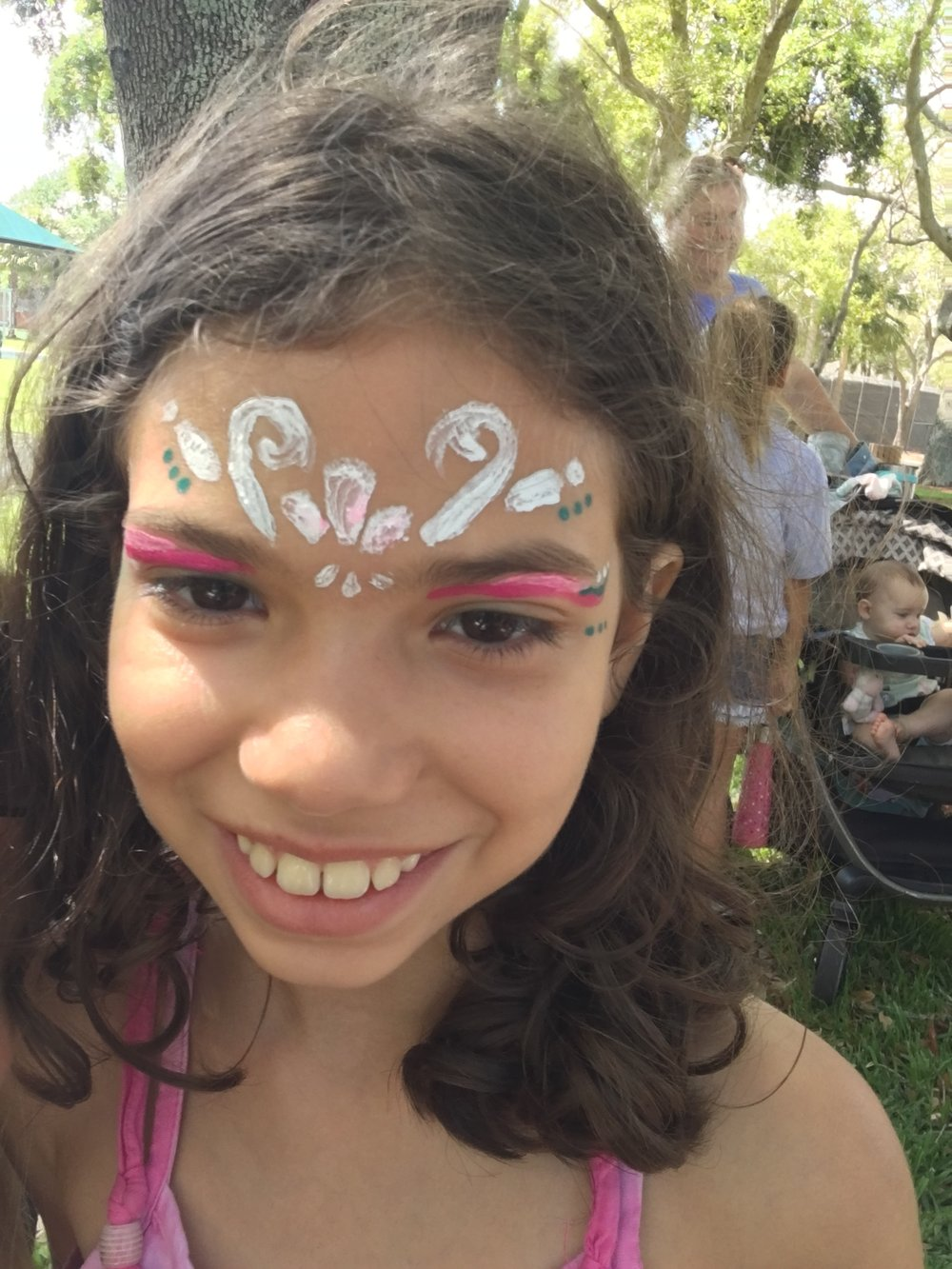 Face Paintings at Pancakes in the Park