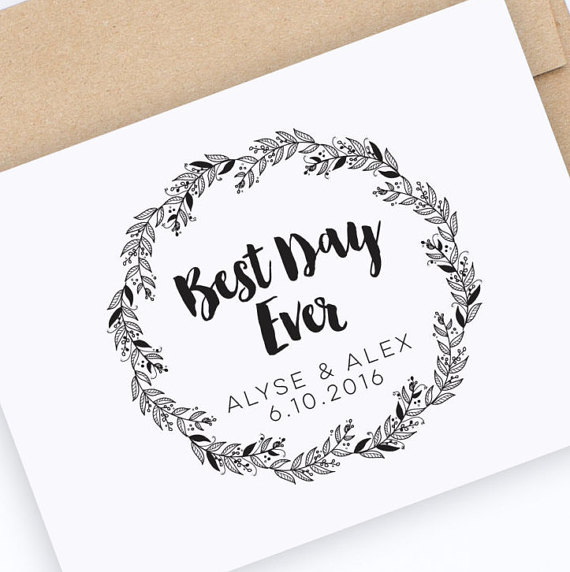 Best Day Ever Stamp  |  Hello World Paper Co. & Stamps