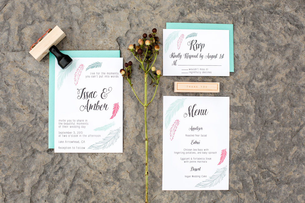 Hello World Paper Co.  |  Wedding Invitations