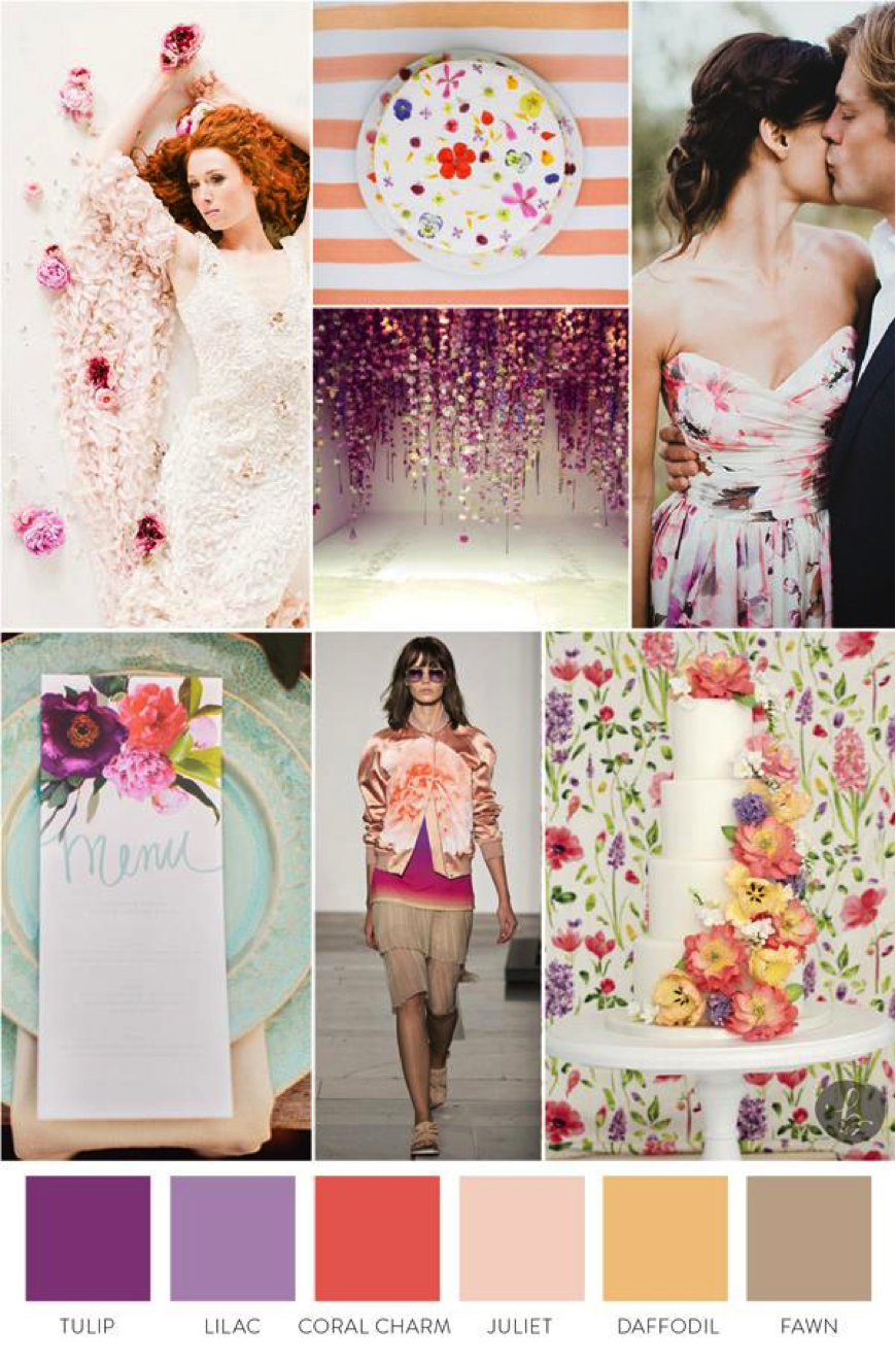 Inspiration Board Provided By: The Big Fake Wedding