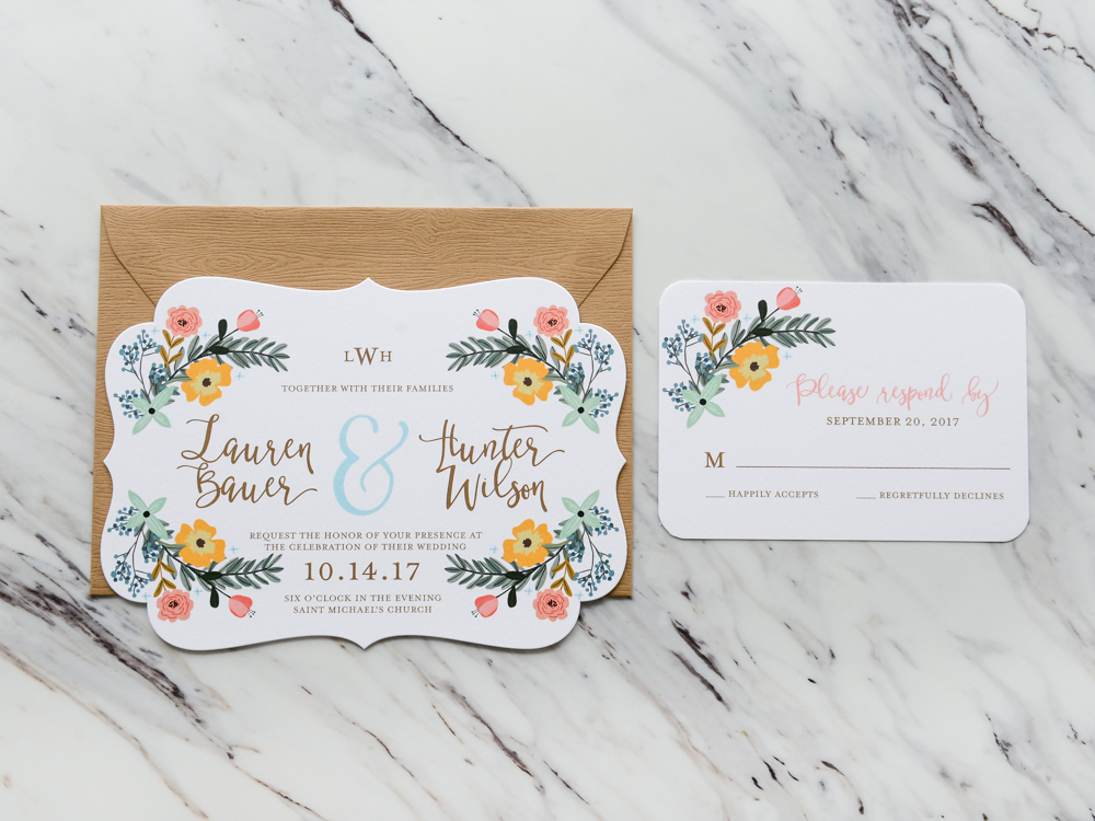 Southern Florals Collection  |  Hello World Paper Co. & Stamps