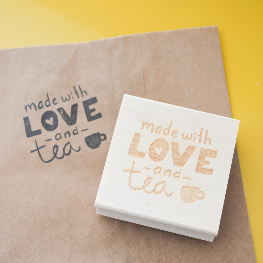 Rubber Stamp - Made with Love and Tea.jpg