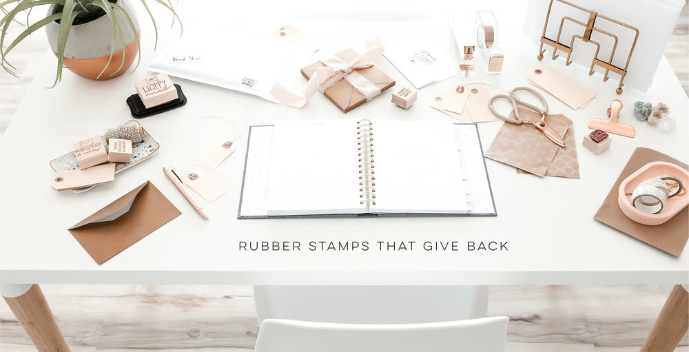 Hello World Paper Co. & Stamps Gives Back