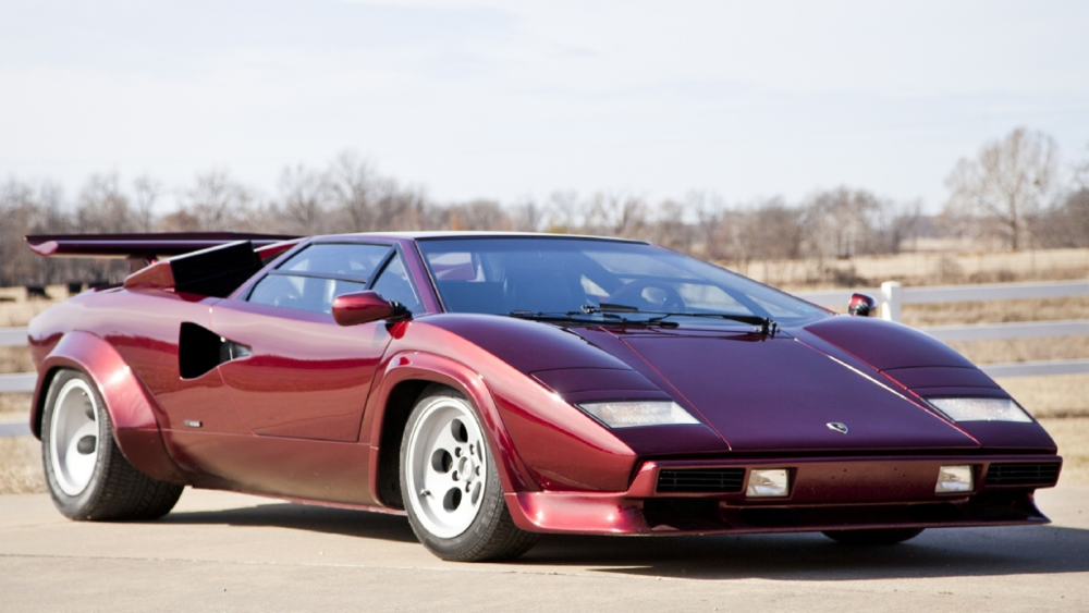 poster child lamborghini countach ehrlich motorwerks. Black Bedroom Furniture Sets. Home Design Ideas
