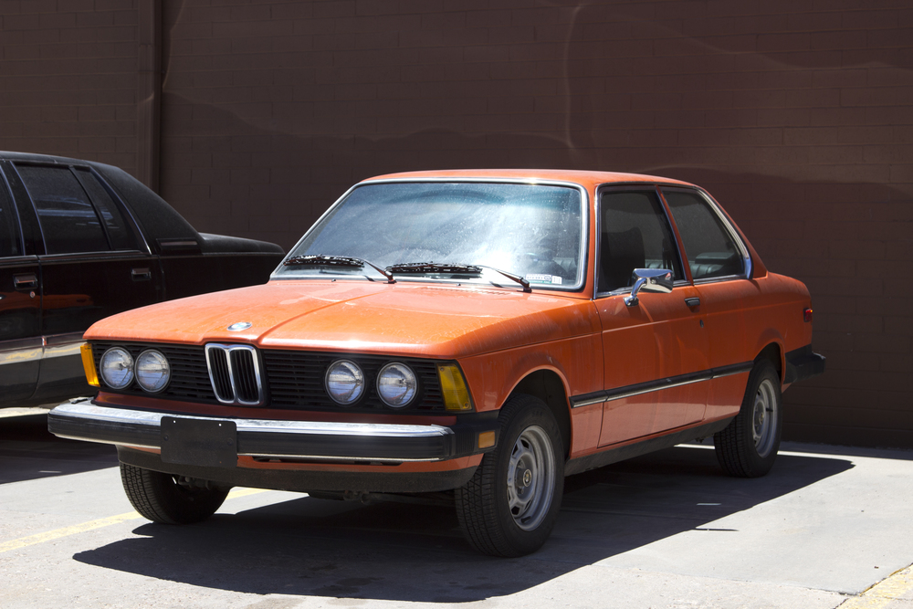 1977 BMW as found