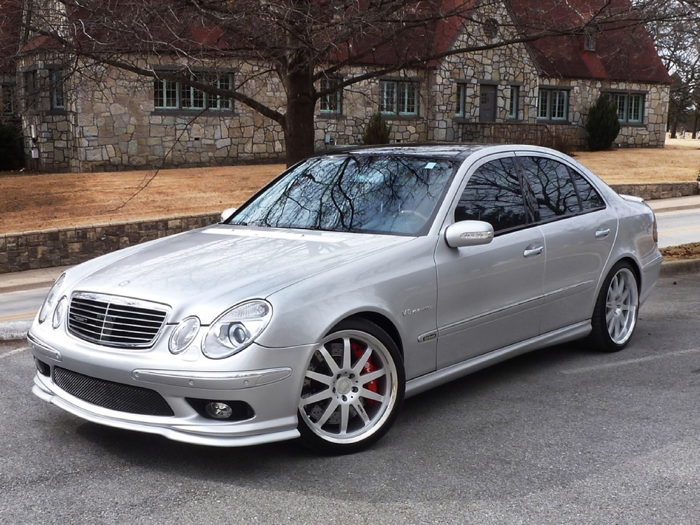 2005 mercedes benz e55 amg ehrlich motorwerks for Mercedes benz e 55 amg