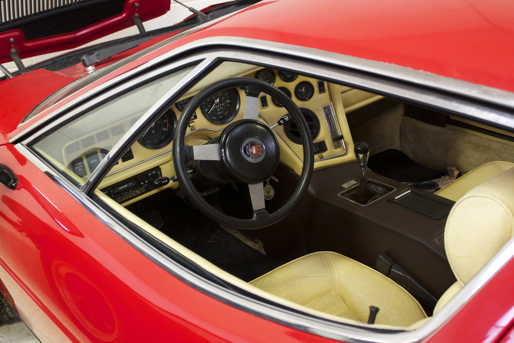 Maserati Merak Interior