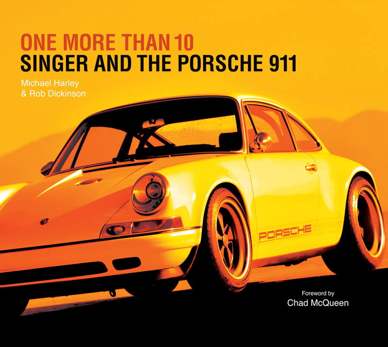 Singer Vehicle Design Has Announced A New Book, Available For Pre Order,  All About How Rockstar Turned Designer Rob Dickinson Made It All Happen.