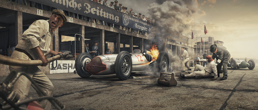 Unique and Limited The Silver Arrows Crash and Burn