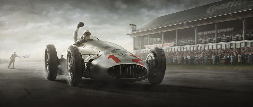 Unique and Limited The Silver Arrows Fatherland Finish