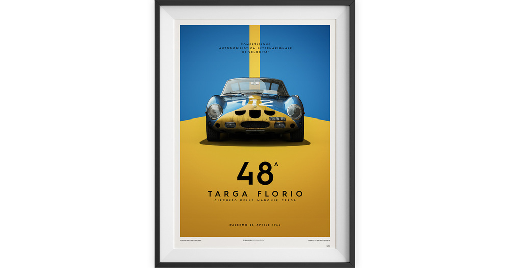 Unique and LImited Targa Florio Ferrari 250 GTO