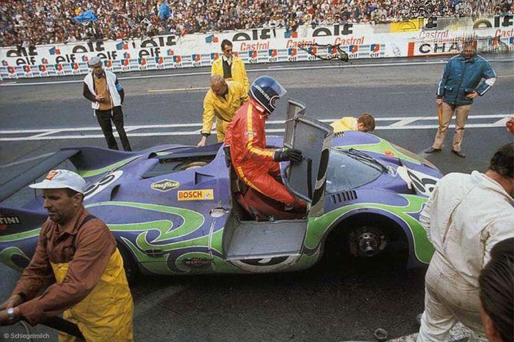 Porsche 917 Hippie Car
