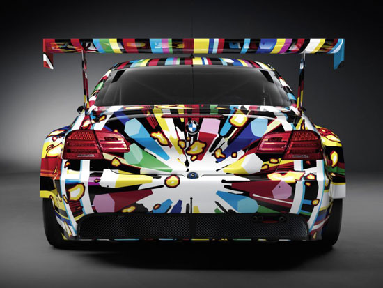 BMW Art Car Jeff Koons