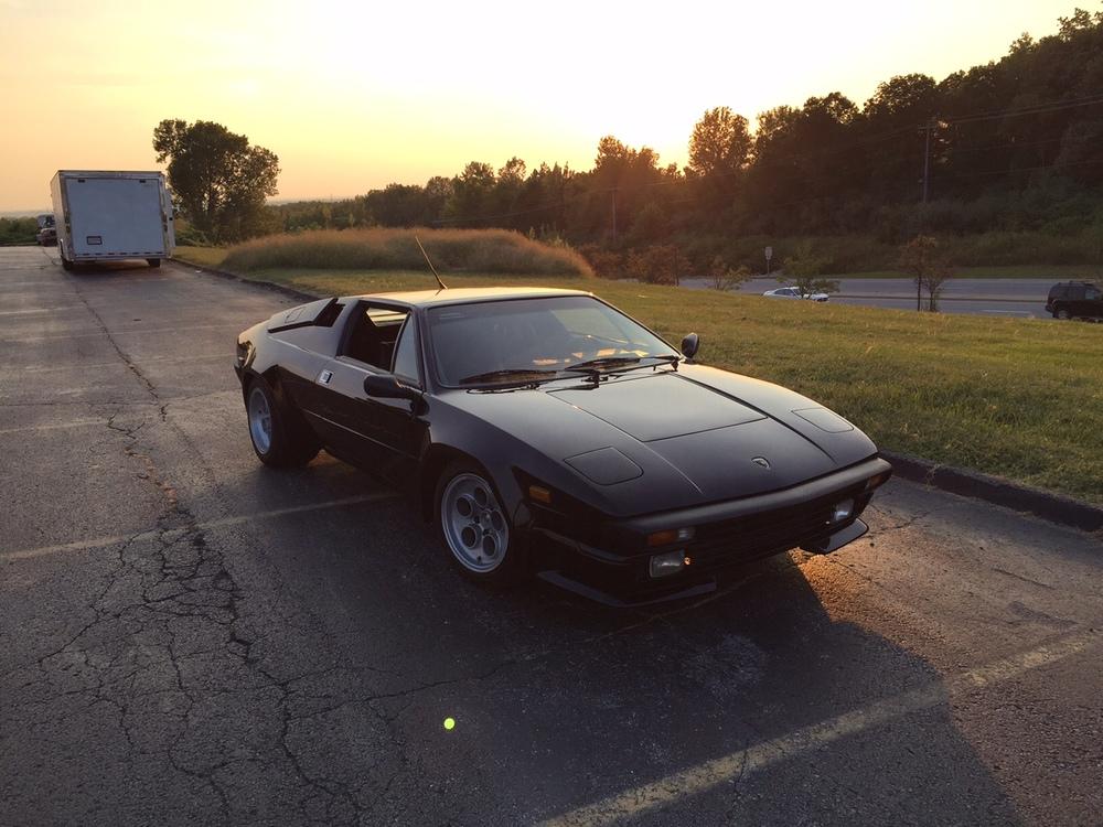 1988 Lamborghini Jalpa Black