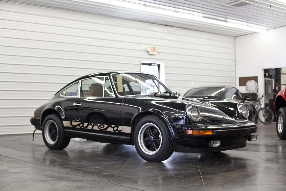 1975 Porsche 911 Carrera Black