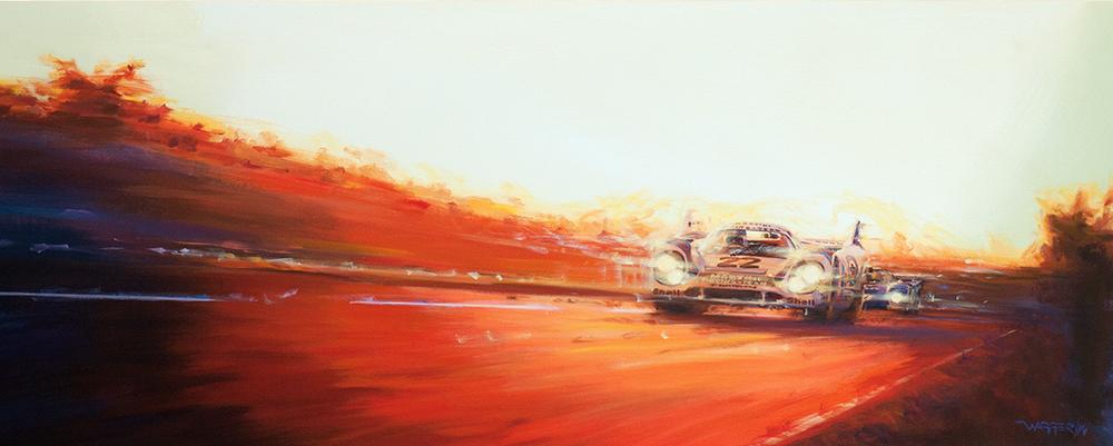 Klaus Wagger Sunset Martini Porsche