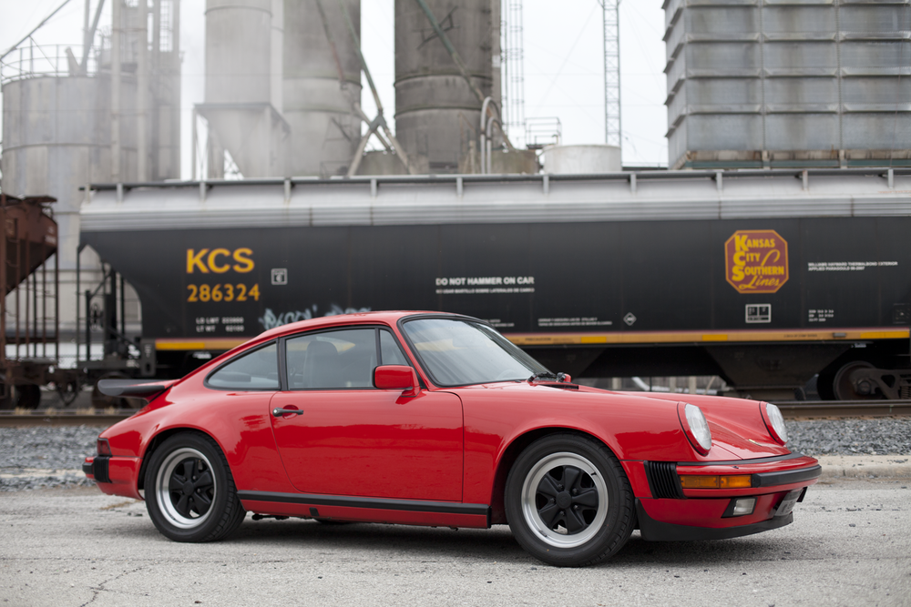 Red 911 + Train