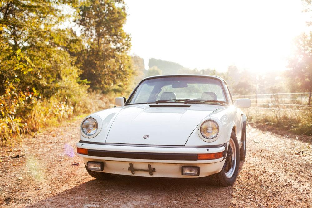 Cream Porsche 911 Print