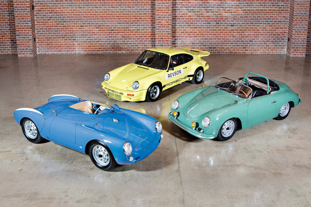 Jerry Seinfeld Gooding and Co. Auction Three Porsches