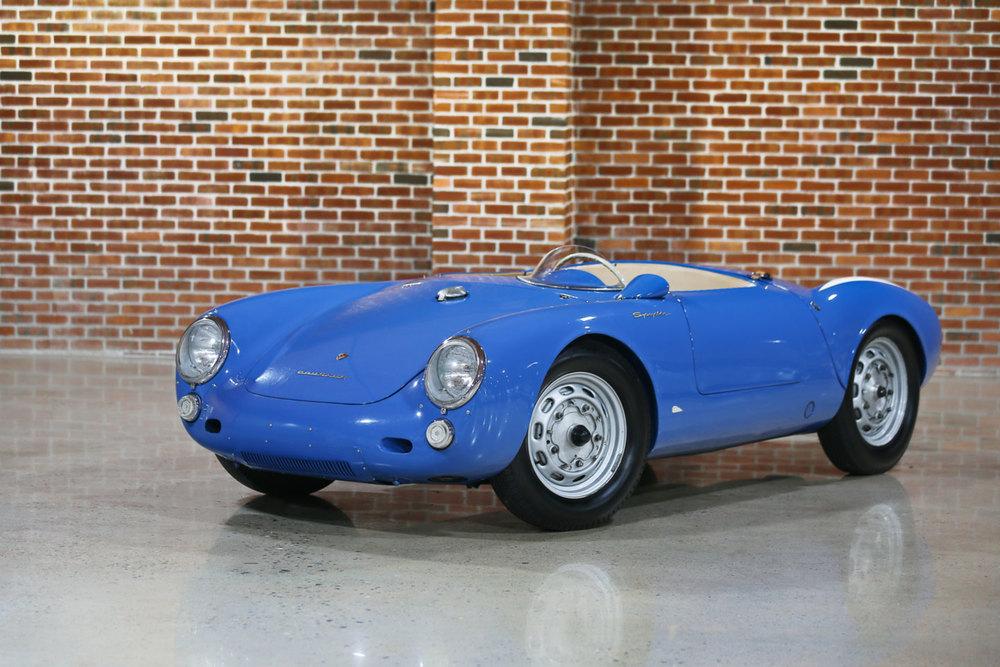 1955 Porsche 550 Spyder Seinfeld Amelia Island Gooding and Co.