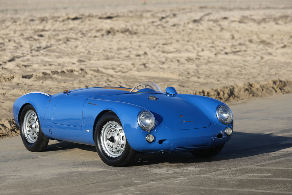 1955 Porsche 550 Spyder Jerry Seinfeld Gooding and Co. Auction
