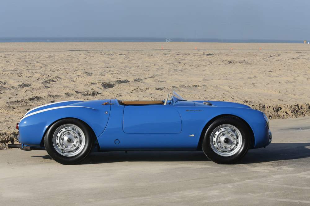 1955 Porsche 550 Spyder Seinfeld Gooding and Co. Amelia Island Auction