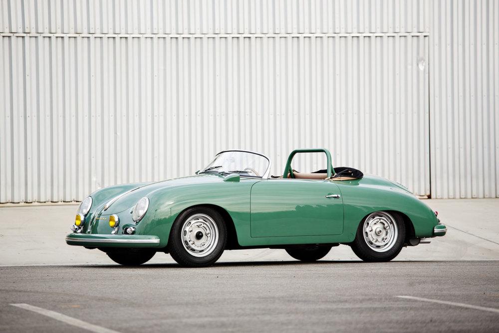 1958 Porsche 356 A 1500 GS/GT Carrera Speedster Jerry Seinfeld Gooding and Co. Auction