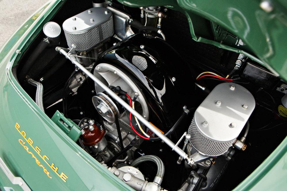 1958 Porsche 356 A 1500 GS/GT Carrera Speedster Engine Gooding and Co. Auction