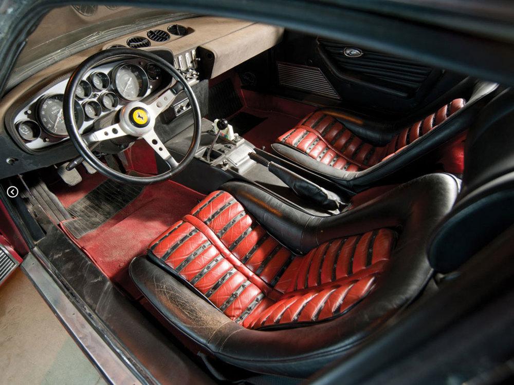 Ferrari 365 GTB Condo Find Interio
