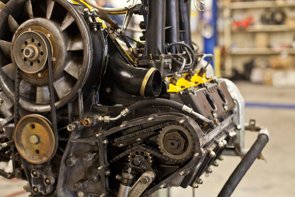 Golden T Engine