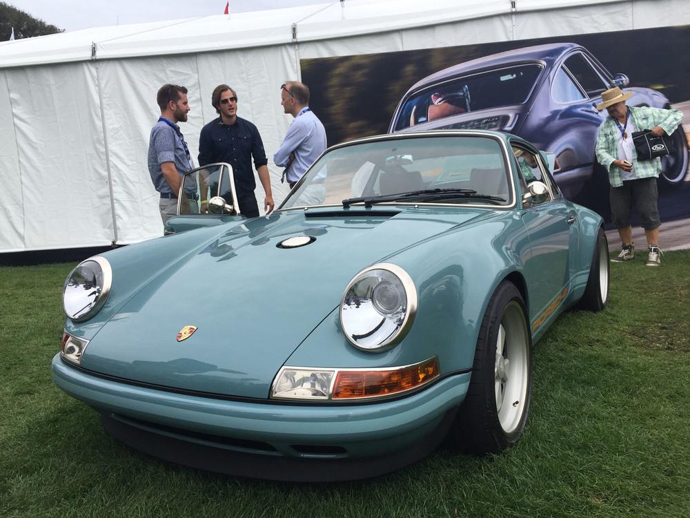 Amelia Island Singer Porsche