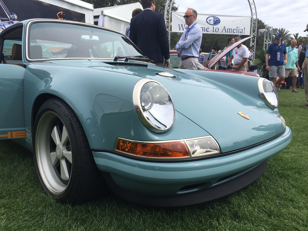 Singer Porsche Amelia Island