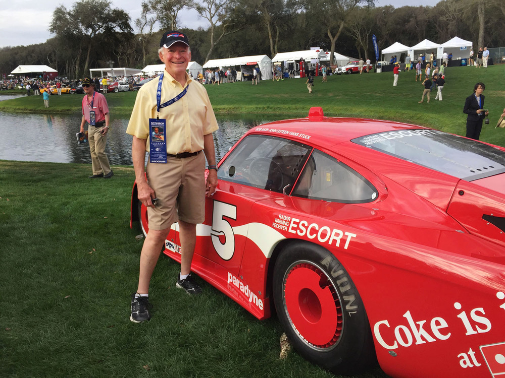 Photos of John Osteen, driver of this Porsche 935 in 1984.