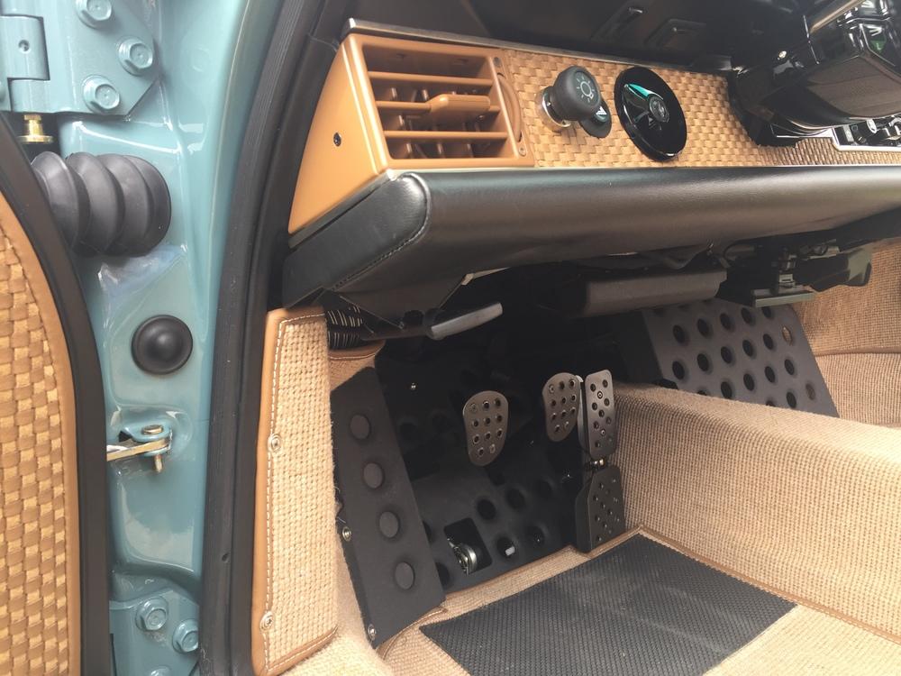 Singer Porsche Pedals