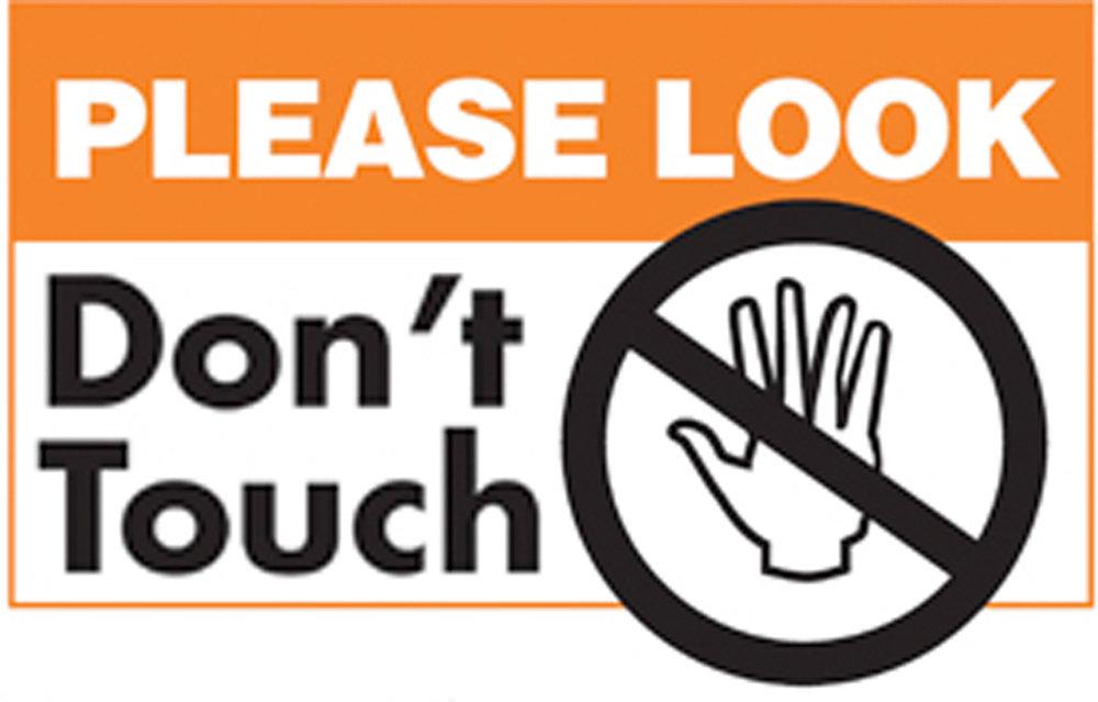 Please Look Don T Touch It S A Survivor Ehrlich