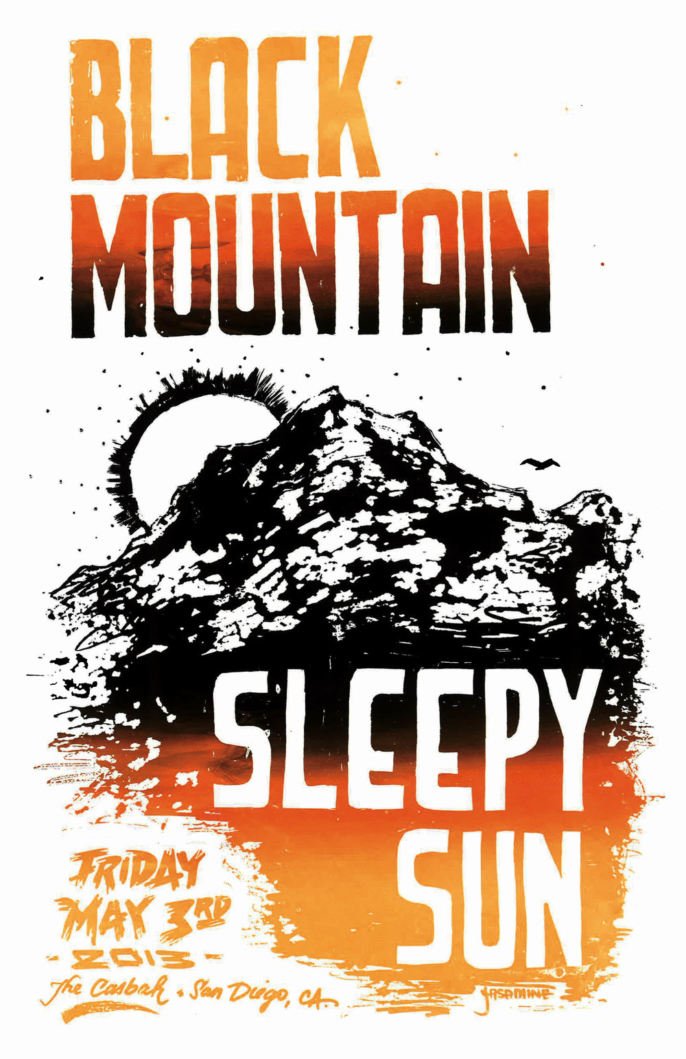 Concert Poster for Black Mountain
