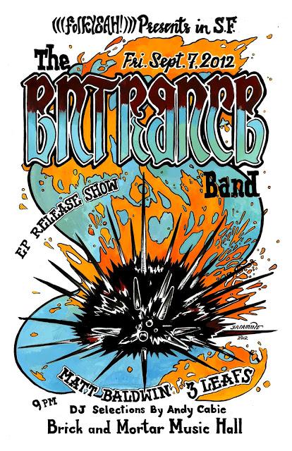 Concert Poster for Entrance