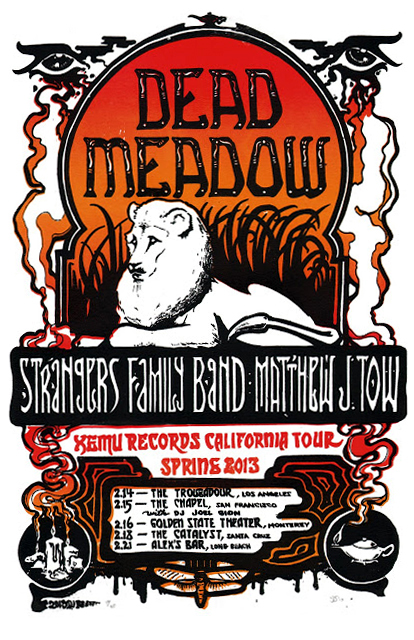 Tour Poster for Dead Meadow