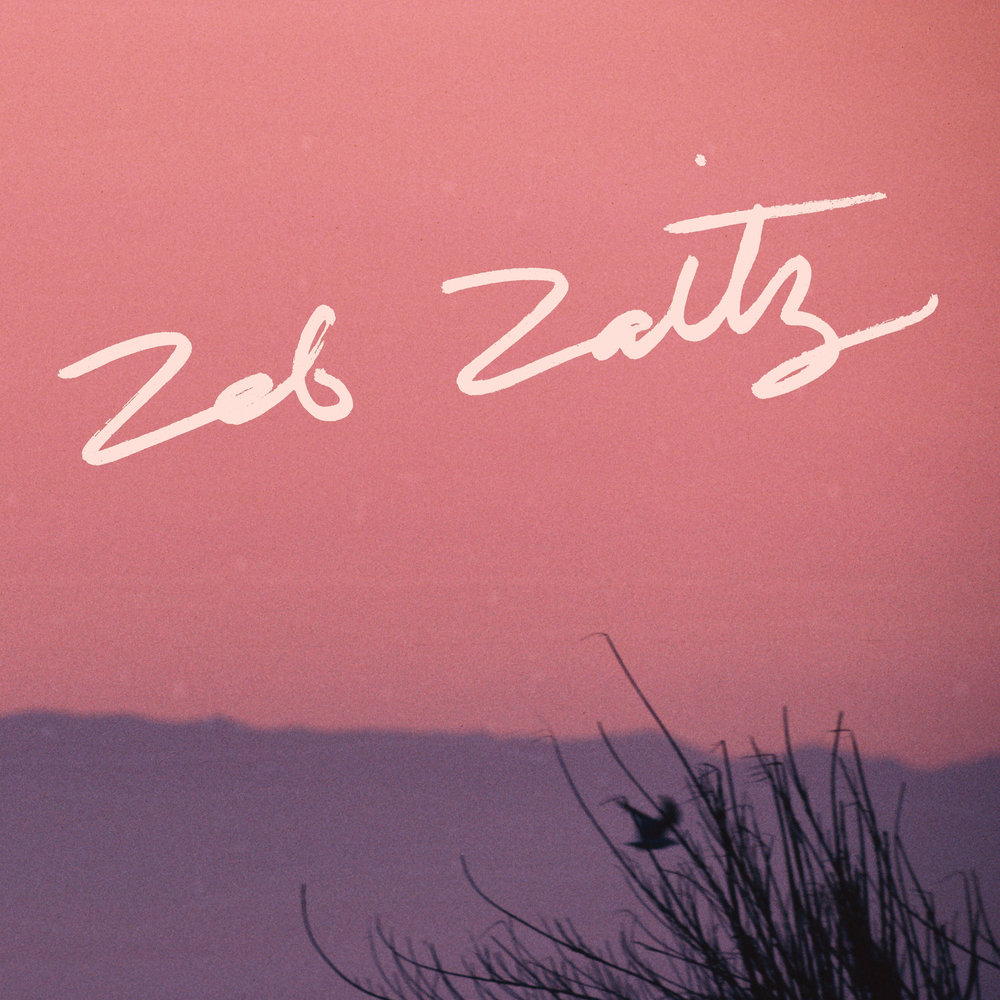 Hand-Lettered Album Title for Zeb Zaitz + Royal Oakie
