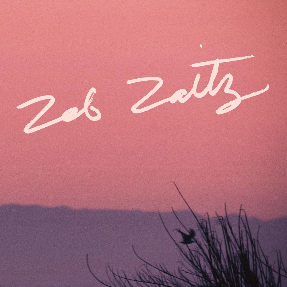 Hand-Lettered Album Title for Zeb Zaitz + Royal Oakie