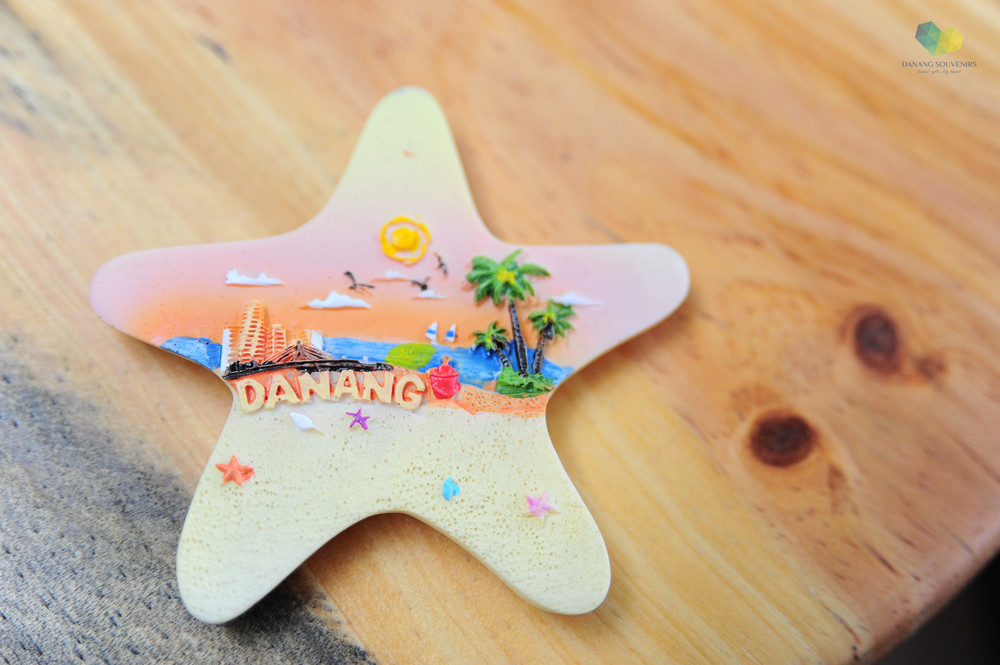 Magnet Polyresin Starfish   Price: 35.000 VND