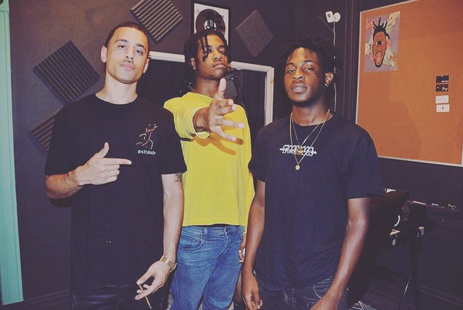 producer BRavestar putting in work with cyrax and lord linco of divine council