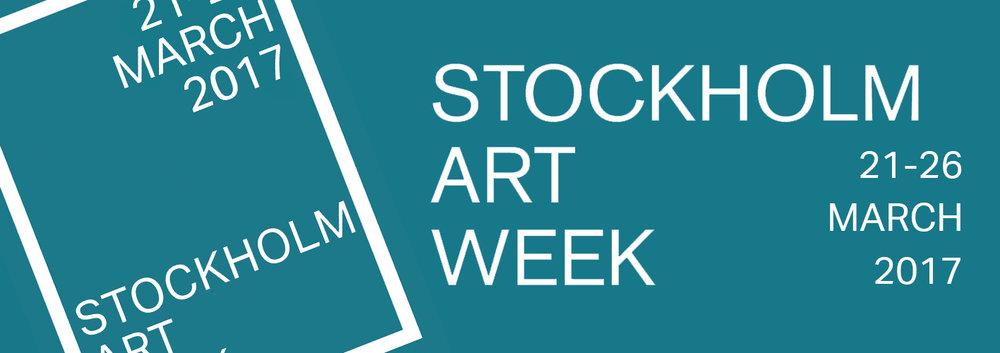 Håll utkik på www.stockholmartweek.com för uppdateringar.